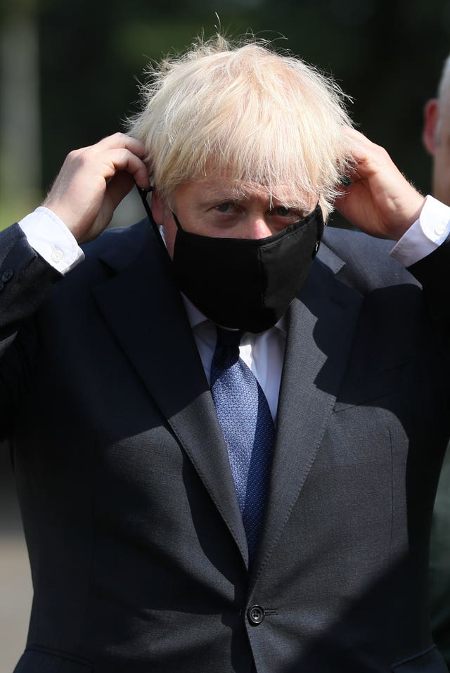 Boris Johnson visits Belfast