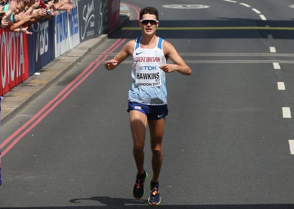 Callum Hawkins has engaged in some unusual marathon preparations