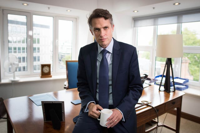 A-Level Education Secretary Gavin Williamson had said there would be no U-turn on exam grades (Stefan Rousseau/PA)