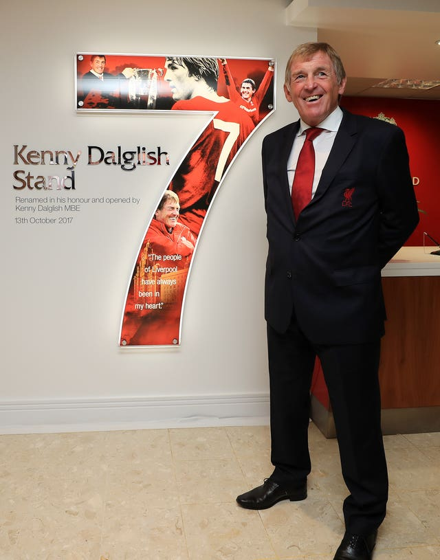 The Kenny Dalglish Stand opening event, 2017