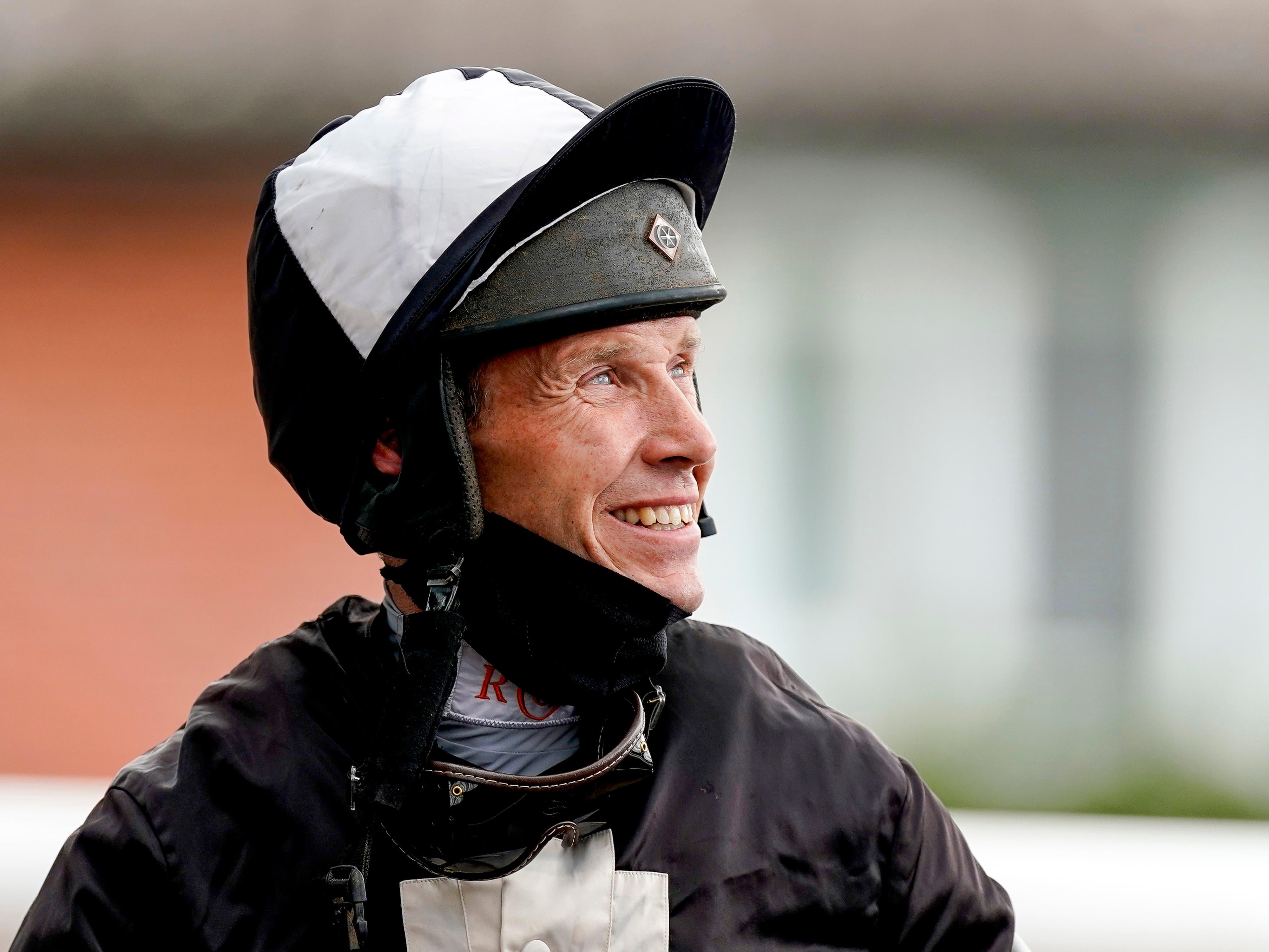 Four-time champion jockey Richard Johnson has announced his retirement (Alan Crowhurst/PA)