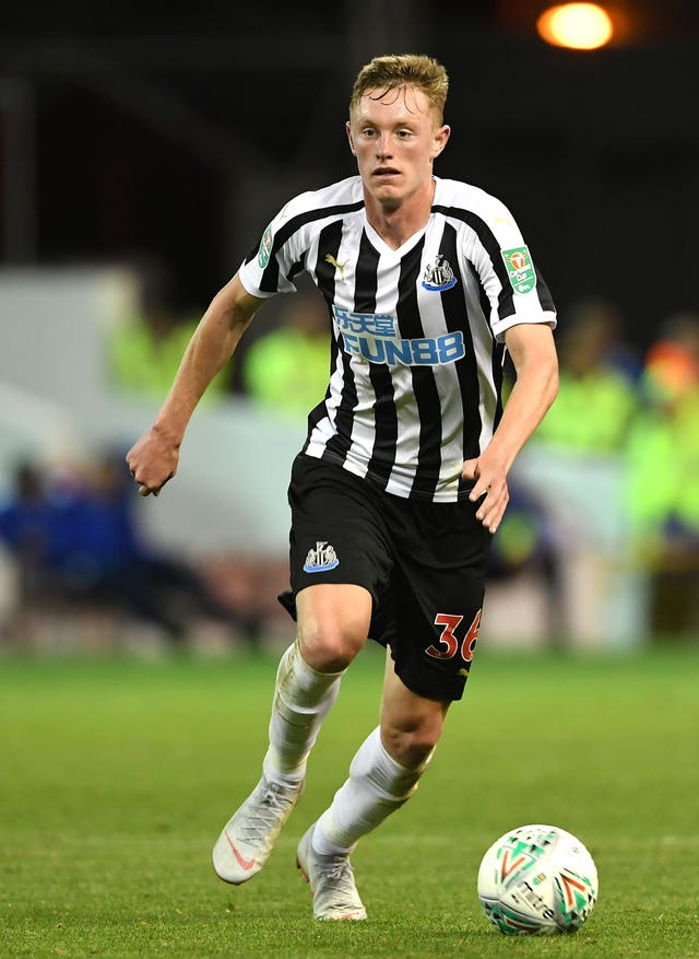 Newcastle United's Sean Longstaff