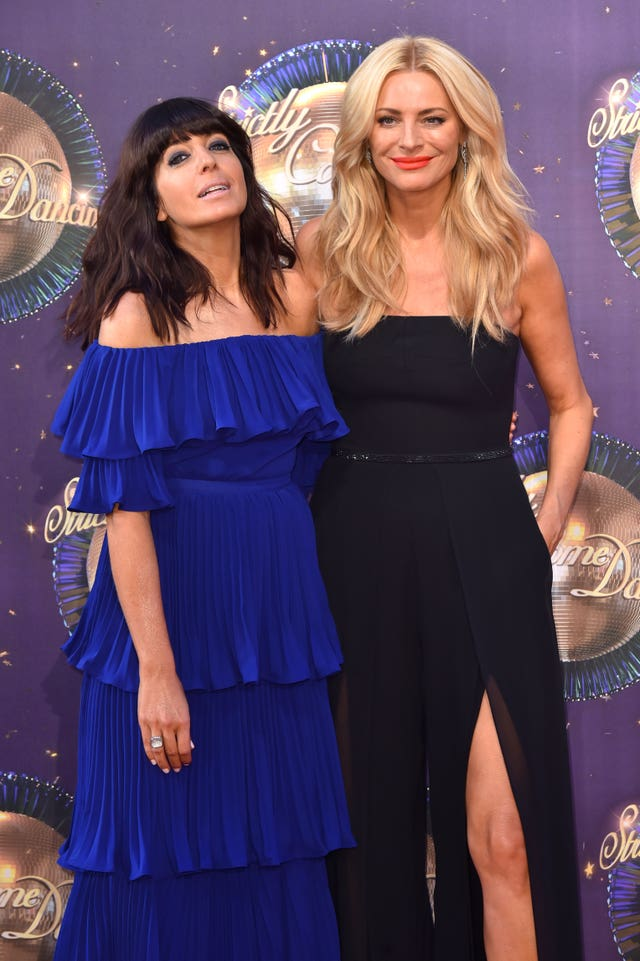 SStrictly Come Dancing hosts Claudia Winkleman and Tess Daly (Matt Crossick/PA)