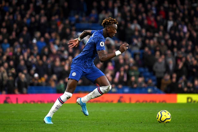 Tammy Abraham suffered an ankle injury during Chelsea's 2-2 Premier League draw with Arsenal on Tuesday evening