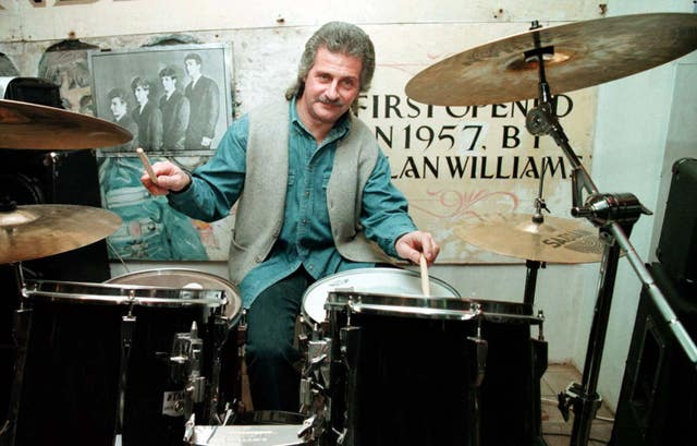 Former Beatles drummer Pete Best