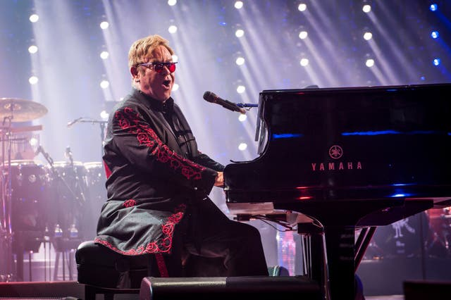 Sir Elton John performs live on stage as part of the Apple Music Festival in 2016 (David Jensen/PA)
