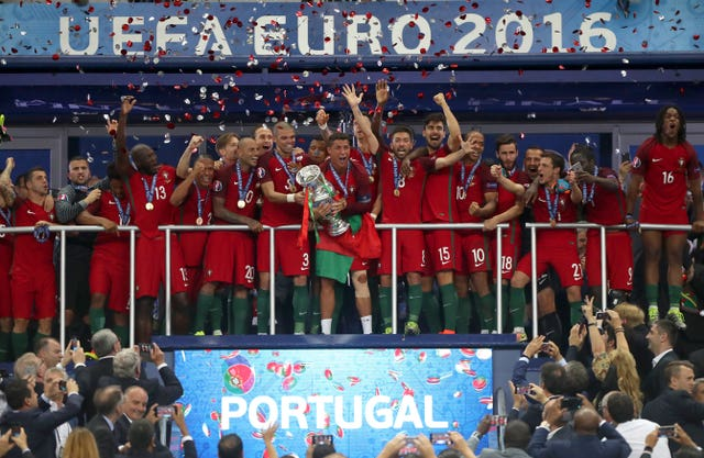 Portugal won the Euro 2016 final in Paris, but are not guaranteed to be among the top seeds next summer