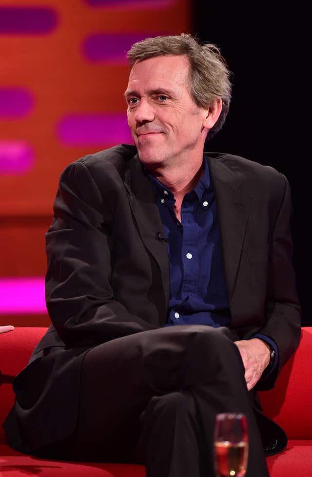 Hugh Laurie  on the Graham Norton Show – London