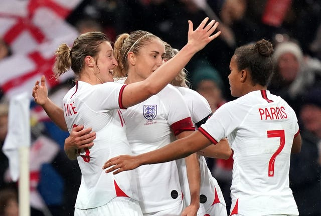 England v Germany – Women's International Friendly – Wembley Stadium