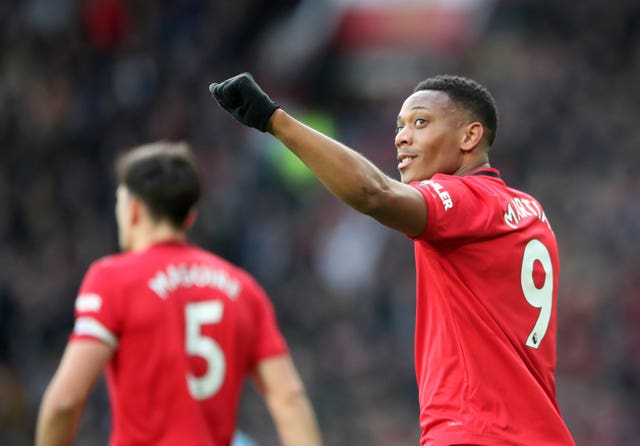 Manchester United were in fine form before the season was suspended