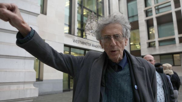 Piers Corbyn breached coronavirus rules with lockdown protest, judge rules