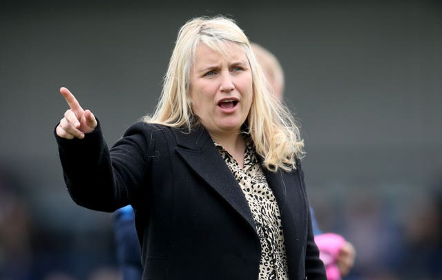 Chelsea manager Emma Hayes has opened a debate about the size of goals in women's football