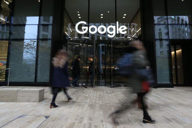 Google continues to generate the vast majority of Alphabet's revenue and income (Jonathan Brady/PA)