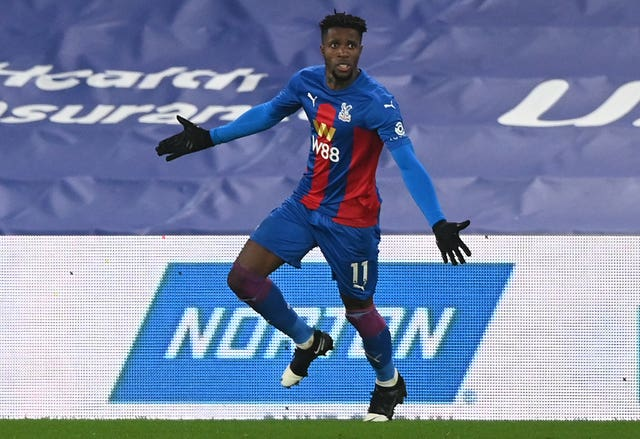 Wilfried Zaha file photo