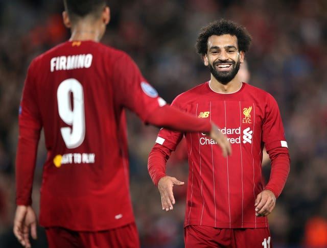Roberto Firmino appeared to give Mohamed Salah a helping hand in his quest for a third successive Golden Boot