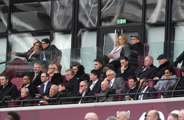 West Ham vice-chairman Karen Brady (top left) has outlined some of the club's plans