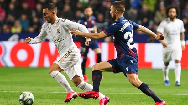 Hazard blow for Real Madrid ahead of Champions League tie with Manchester City