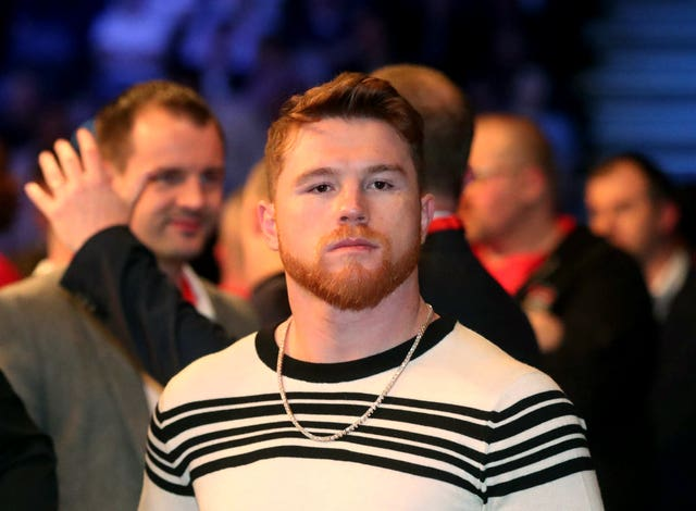 Saunders was close to arranging a fight with Mexican superstar Saul 'Canelo' Alvarez, pictured, in Las Vegas in May but the coronavirus pandemic scuppered the opportunity (Liam McBurney/PA)