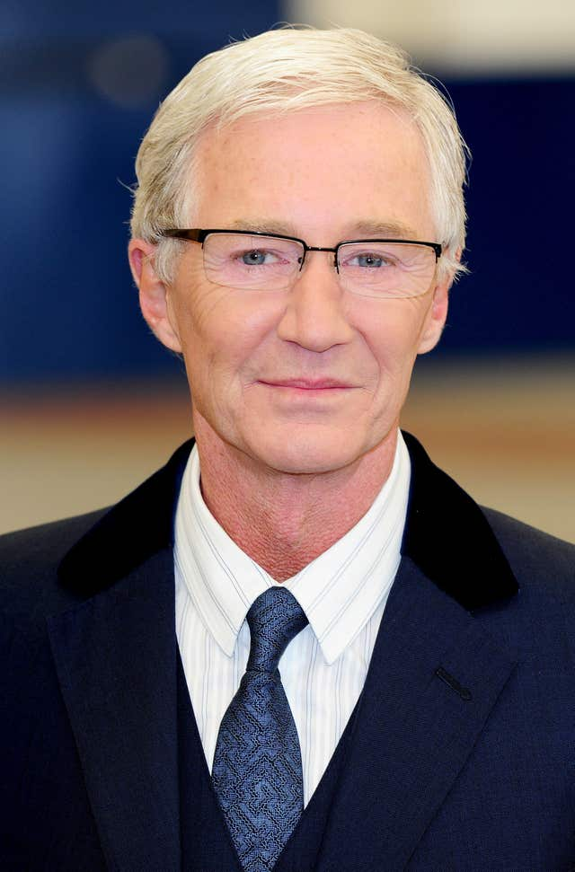 TV presenter Paul O'Grady who has shared his fears that he is
