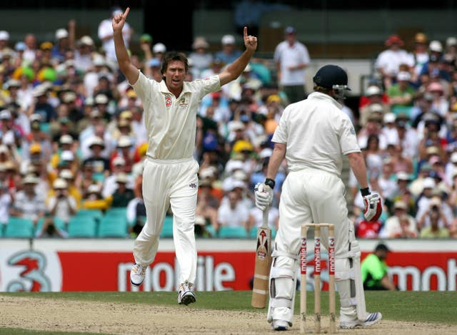 Glenn McGrath claimed 563 wickets for Australia.