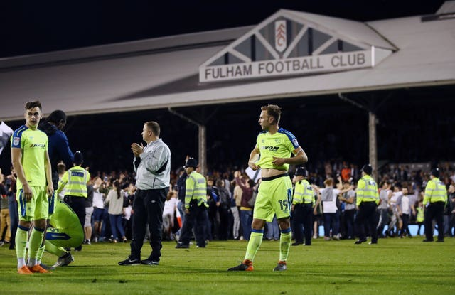 Derby suffered play-off heartbreak at Craven Cottage last season