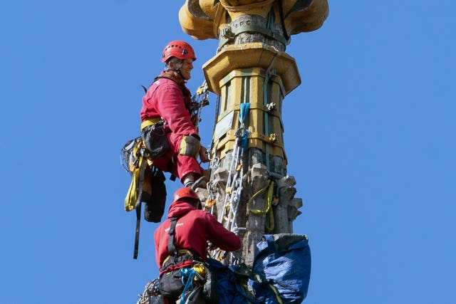 Norwich Cathedral spire restoration