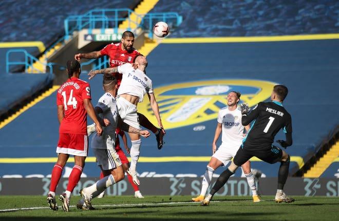 Aleksandar Mitrovic scores Fulham's second goal