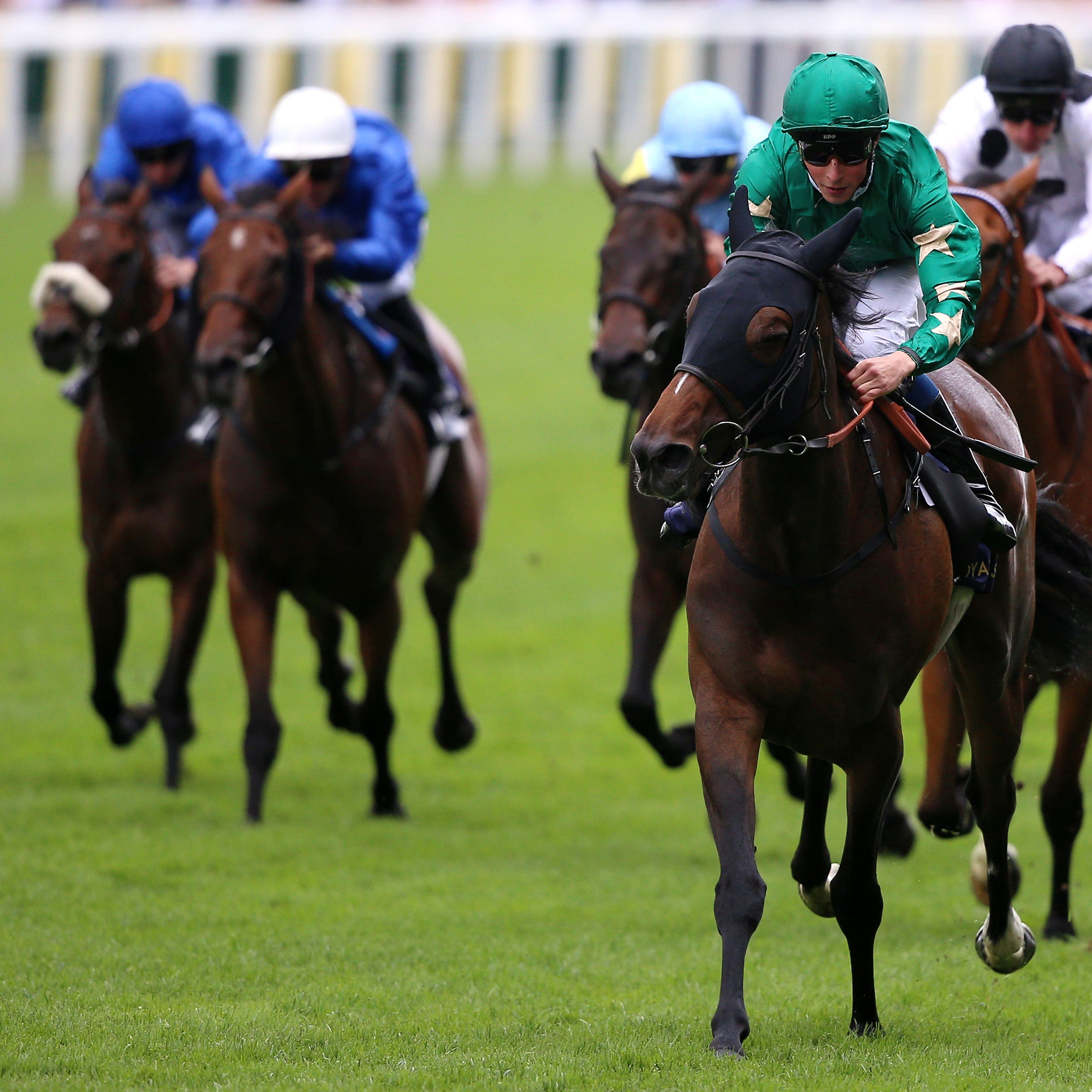 Aljazzi was a clear-cut winner of the Duke of Cambridge Stakes