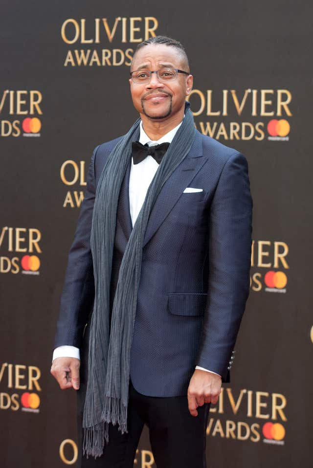 Cuba Gooding Jr made his West End debut as Billy Flynn in Chicago  in April.