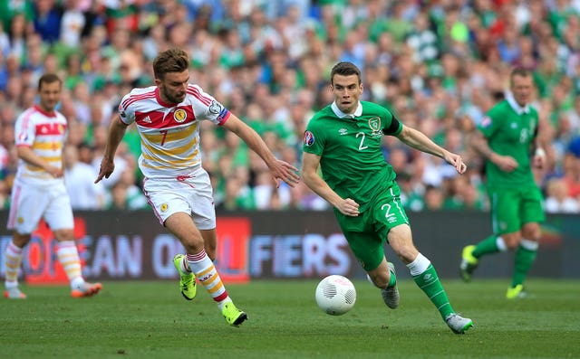 The Republic of Ireland take on Scotland in Euro 2016 qualifying