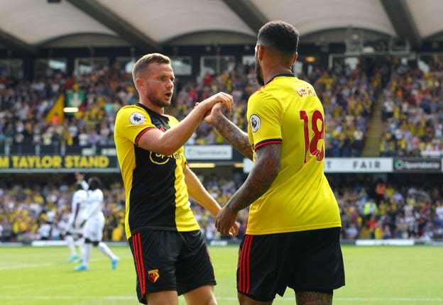Andre Gray gave Watford some hope