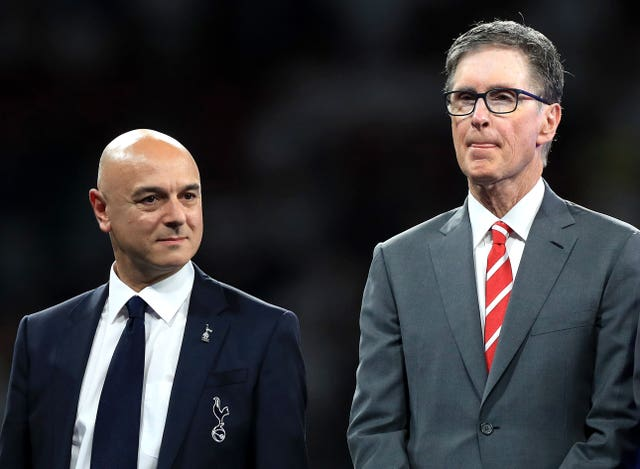 Tottenham chairman Daniel Levy and Liverpool owner John W. Henry have both faced fan pressure