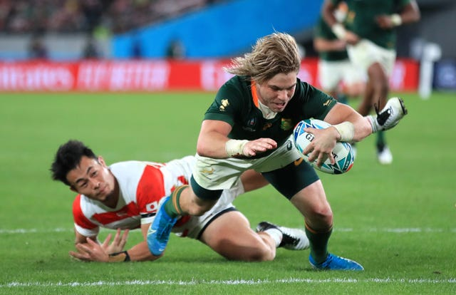 Japan v South Africa – 2019 Rugby World Cup – Quarter Final – Tokyo Stadium