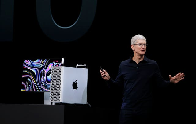 Tim Cook at the WWDC