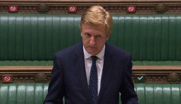 Culture Secretary Oliver Dowden has previously said that the English professional game needs to
