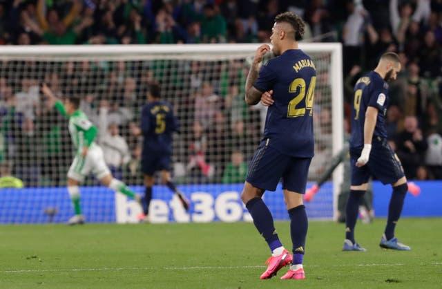 Tello, far left, celebrates scoring the match-winning goal