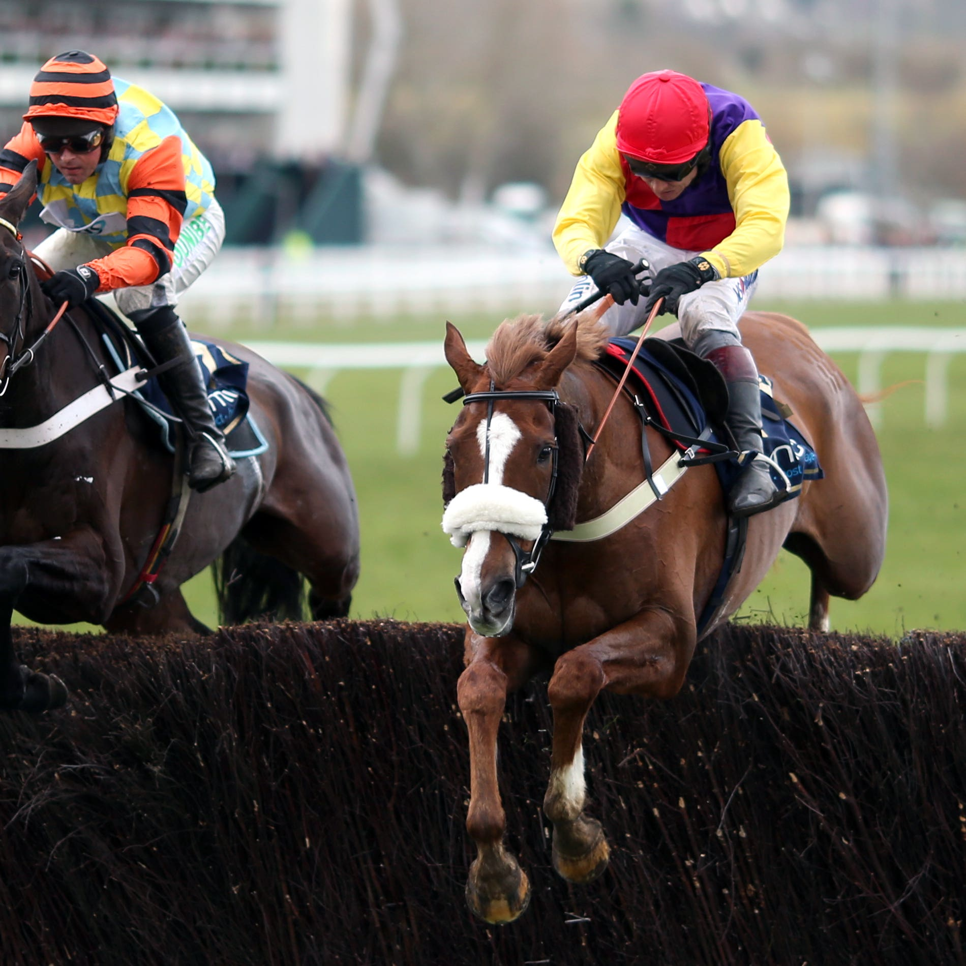 Native River, right, who could head straight to the Magners Gold Cup