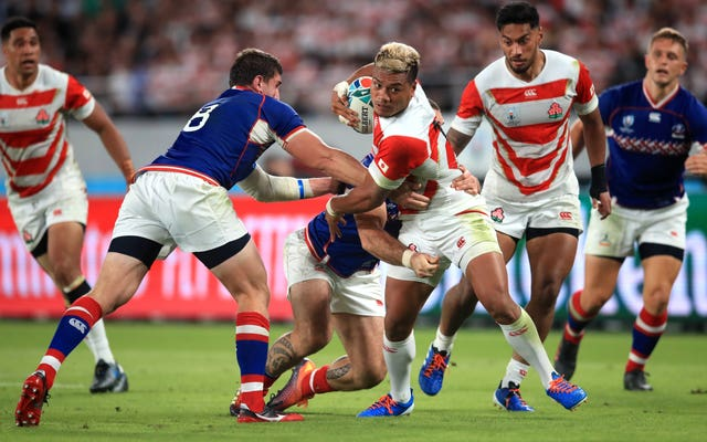 Japan v Russia – Pool A – 2019 Rugby World Cup – Tokyo Stadium
