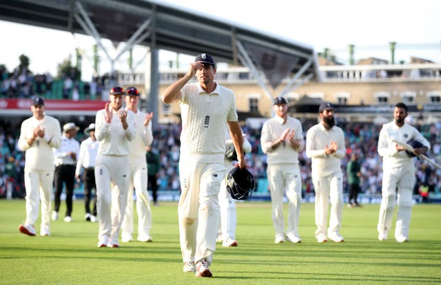 Alastair Cook waved goodbye to Test cricket