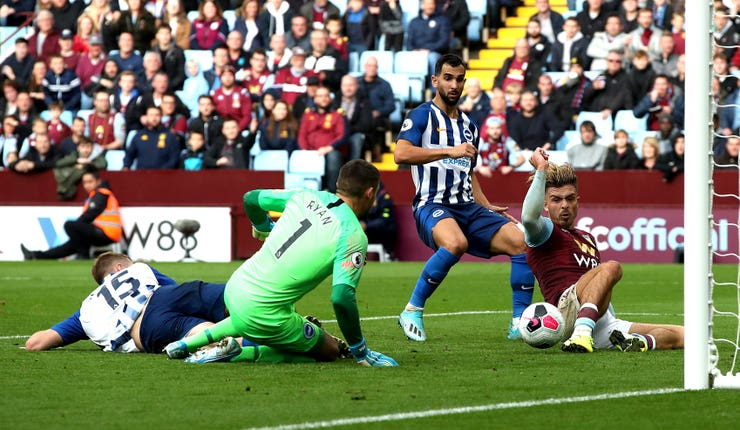 Aston Villa v Brighton and Hove Albion – Premier League – Villa Park