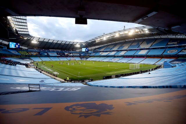 The Etihad Stadium has been hosting matches behind closed doors as part of the Premier League's 'Project Restart'