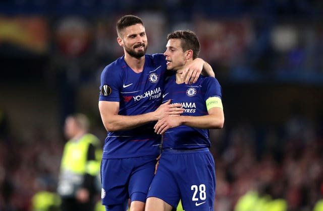 Chelsea were able to celebrate a place in the last four at the final whistle