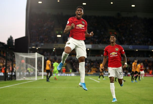 Anthony Martial may return against Liverpool