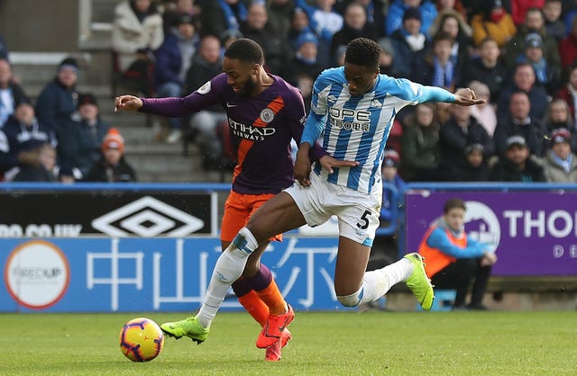 Huddersfield Town v Manchester City – Premier League – John Smith's Stadium