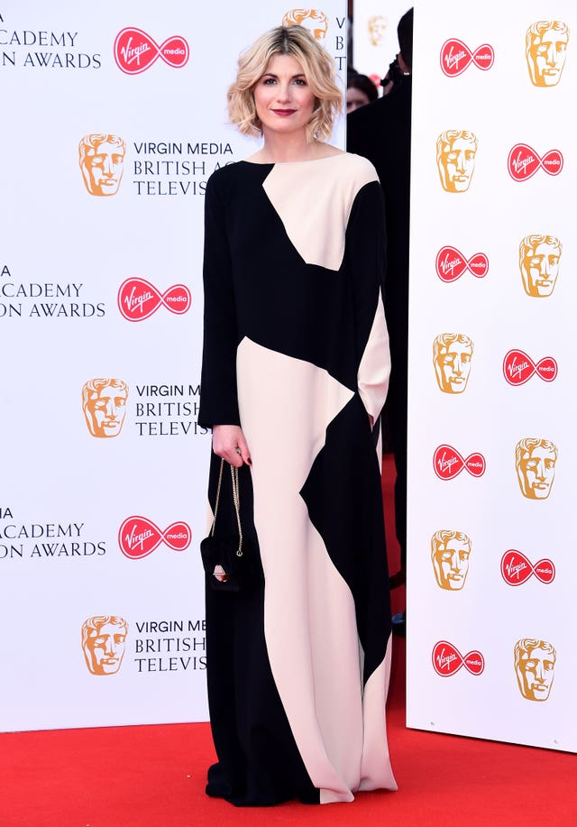 Jodie Whittaker at the Bafta TV Awards