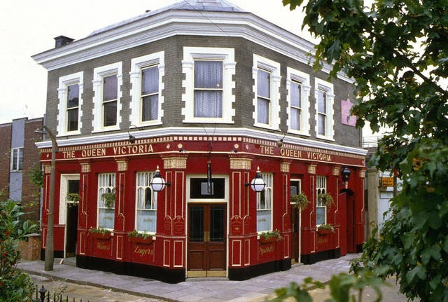 The Queen Vic pub