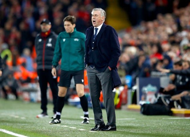 Carlo Ancelotti and Jurgen Klopp meet again on Sunday