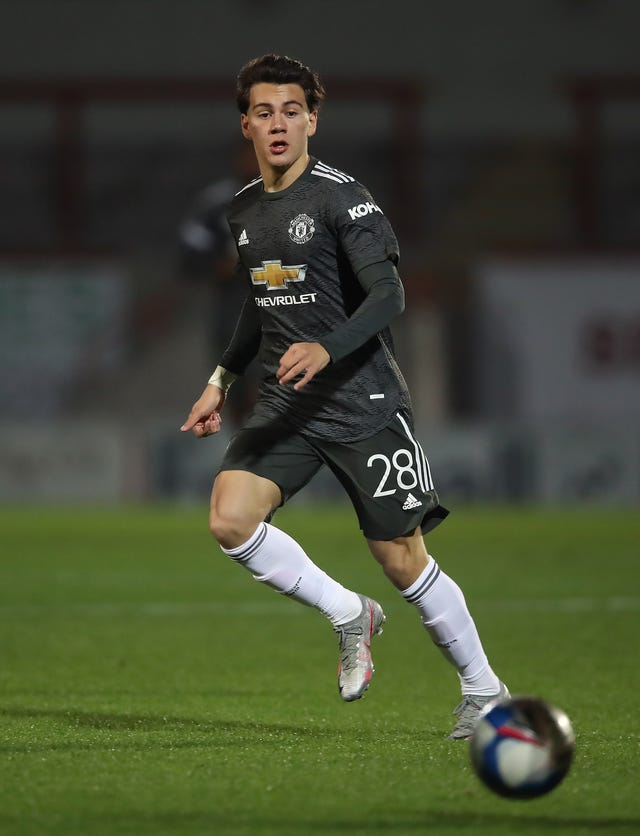 Facundo Pellistri has been playing with Manchester United's development team