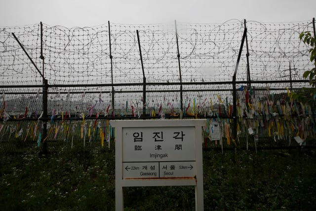 The Korean border
