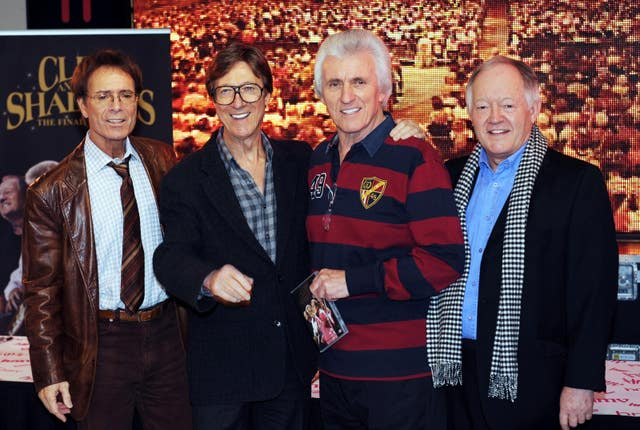 Cliff Richard and The Shadows DVD Signing – London